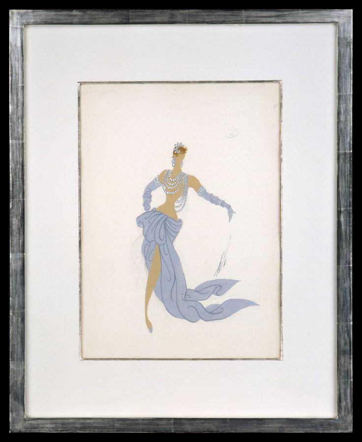 Erte Fashion Design II | 57 x 45 cm |
