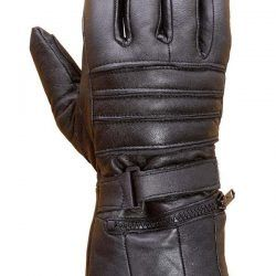 This is a pair of highly comfortable genuine sheep leather winter motorcycle gloves.These gloves with extra long cuff are ideal for cold weather riding.The gloves are backed by our Lowest price, Highest quality guarantee. This simply means you cannot get this price and quality from any other seller.Measure the circumference of your dominant hand just below your knuckles as shown in the picture. $18.99