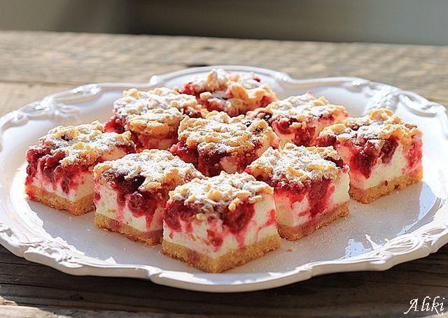 Mamina jela: Prhki kolač sa malinama