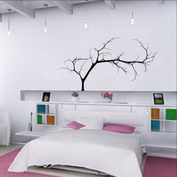 14 best tree vinyl wall decals images on pinterest vinyl for How to decorate a bare living room wall