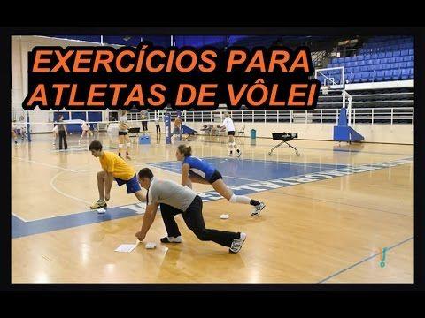 VOLEIBOL EXERCÍCIOS PARA ATLETAS DE VÔLEI