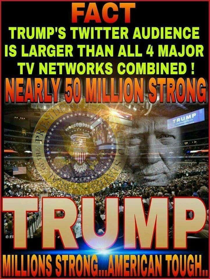 President Trump and his Twitter ~@guntotingkafir GOD BLESS AMERICA AND GOD BLESS PRESIDENT TRUMP!!!