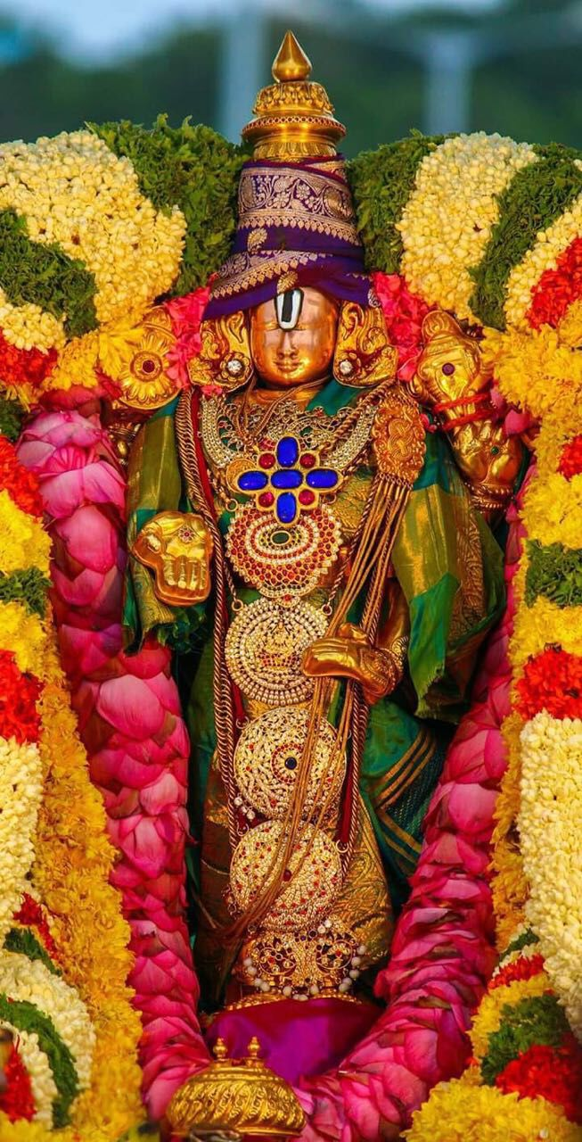 One of the pancha beras of tirumala temple. Utsava Murthy