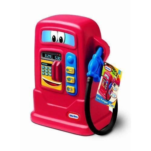 Little Tikes Toy Gas Pump w/ Sound For Cozy Coupe Truck Cab New