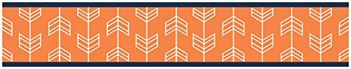 Orange and Navy Baby Childrens and Kids Wall Paper Border... https://www.amazon.com/dp/B01F25IDE2/ref=cm_sw_r_pi_dp_ZPdzxb31F8ZYW