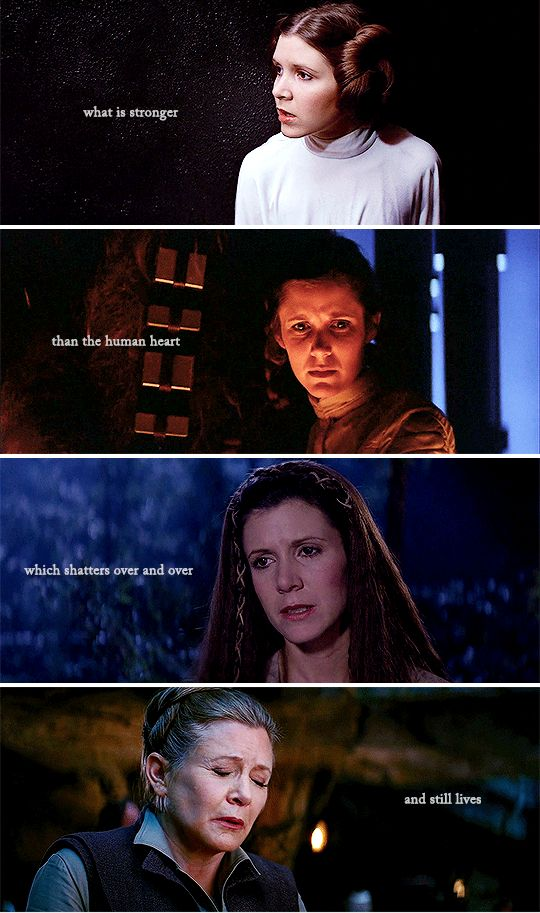We lost a true legend.<<< even tho I never knew Carrie Fisher in real life it feels like I lost a close friend of a relative