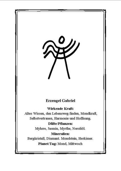 'Erzengel+Gabriel,+Symbol'+von+Ramaela+Maria+Seeliger+bei+artflakes.com+als+Poster+oder+Kunstdruck+$16.63