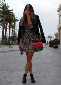 Print Animal & Gloriaca . Look estilo Lady 2014.