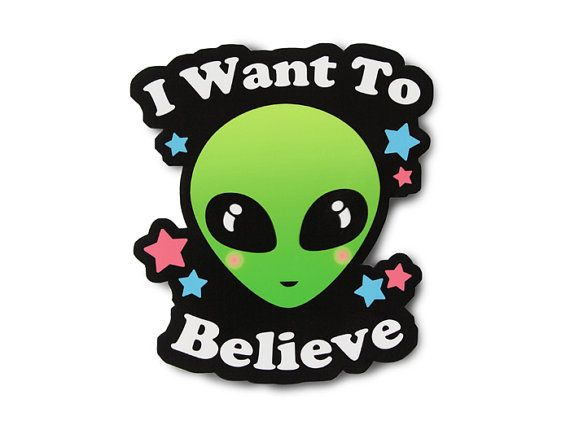 I want to believe sticker laptop sticker ufo aesthetic soft grunge grunge sticker aesthetic sticker