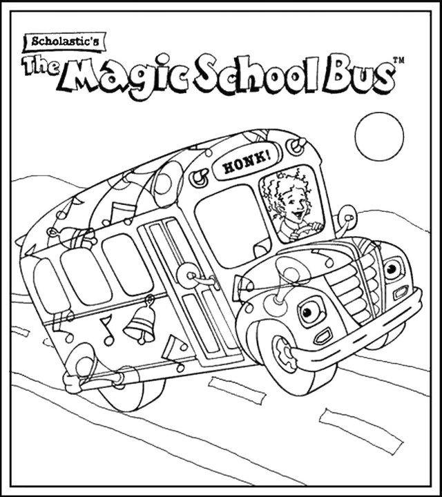 - Marvelous Picture Of Magic School Bus Coloring Pages - Birijus.com Magic School  Bus, School Bus Drawing, School Bus Crafts