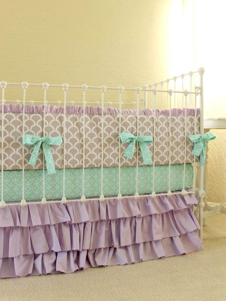 mermaid crib bedding - Google Search