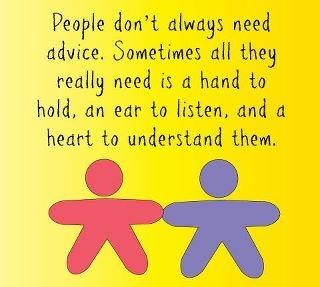 ears to listen: Life Quotes, Remember This, Hands, Hard Time, Listening Ears, So True, Multiplication Sclerosis, Favorite Quotes, Heart Thoughts