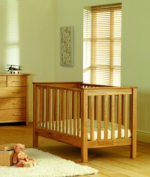 Fiona Cot Bed – Natural Oak