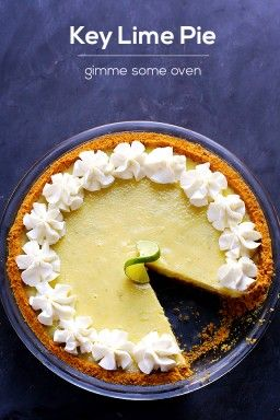 Best Key Lime Pie Recipe   gimmesomeoven.com