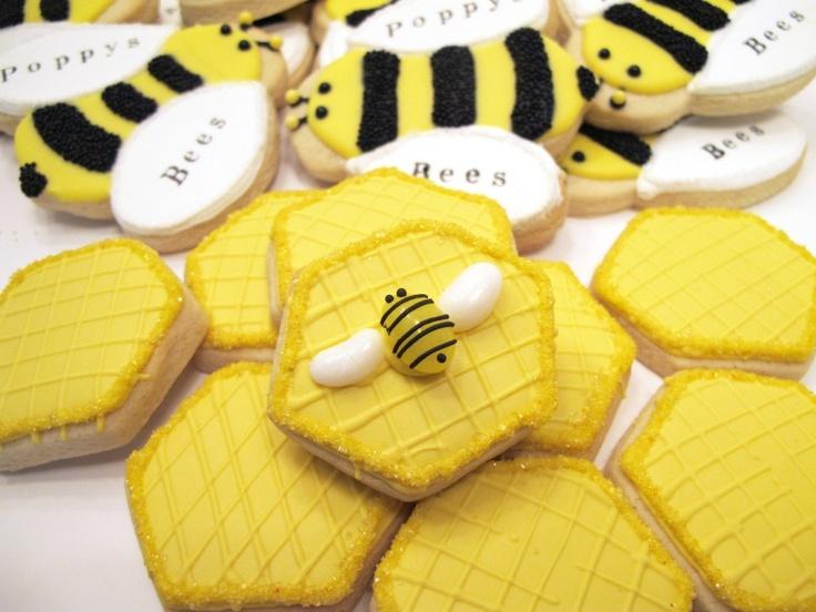 cute cookies beekeeper cookies