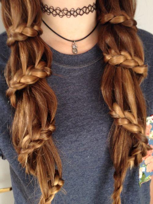 spiral french braid