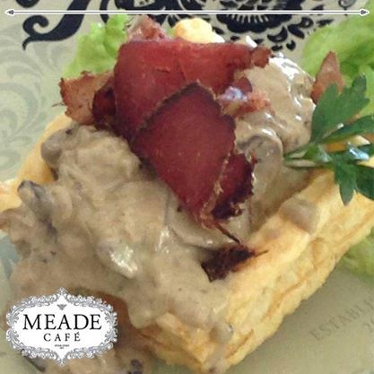 Visit Meade Cafe for great service, a relaxed atmosphere and scrumptious #food. Enjoy the rest of your week. #meadecafe