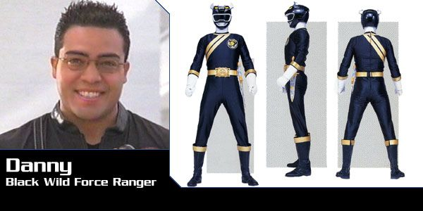 Danny Delgado (Black Bison Wild Force Ranger) - Power Rangers Wild Force | Power Rangers Central