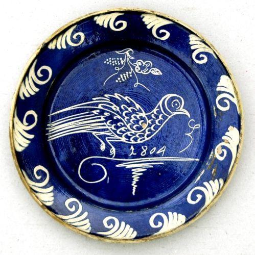 Saxon plate from Transylvania, Kingdom of Hungary. Ethnographic Museum of Transylvania, Kolozsvár (Klausenburg, Cluj-Napoca).