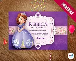 Resultado de imagen para invitaciones princesita sofia