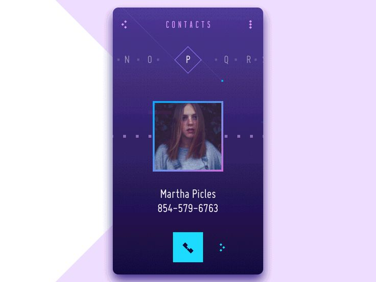 UI in Action. 15 Animated Design Concepts of Mobile UI. — Medium