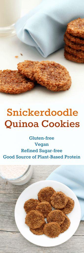 Snickerdoodle Quinoa Cookies CollageEdit description