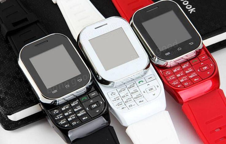 Ken Xin Da W1 1.44-inch SC6531 Slip Cover Touch Screen Watch Phone Sale-Banggood.com