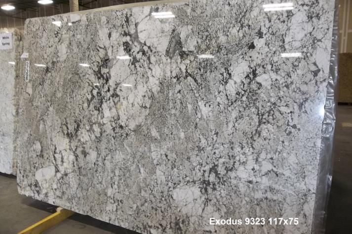 Exodus Granite White Kitchen