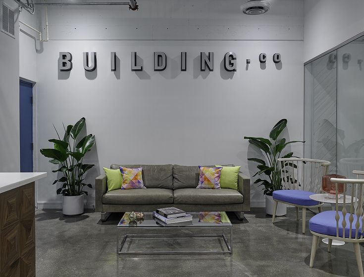 Building Coworking Space, Miami.  Interior Design by Sergio Vergara