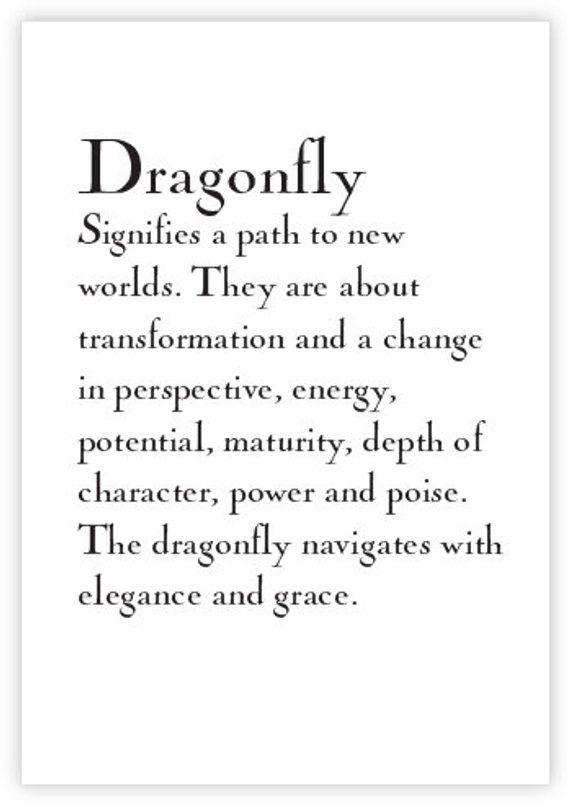 Dragonfly Art Print, Spirit Animals, Animal Art, Art for