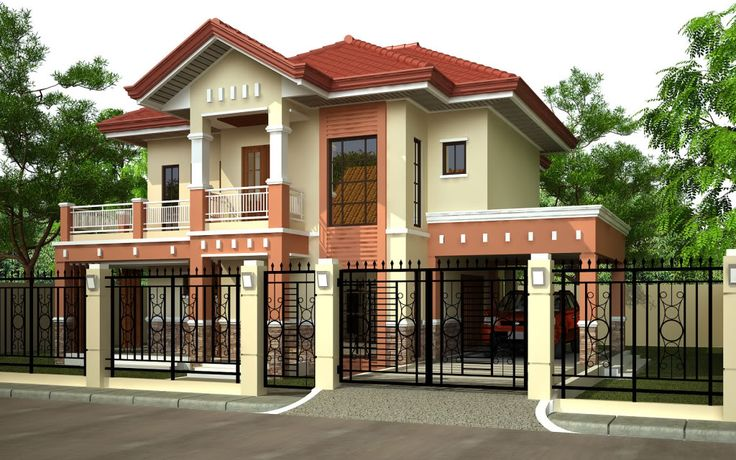 Philippine house plan house plan philippines house plan for Bungalow house exterior paint colors in the philippines