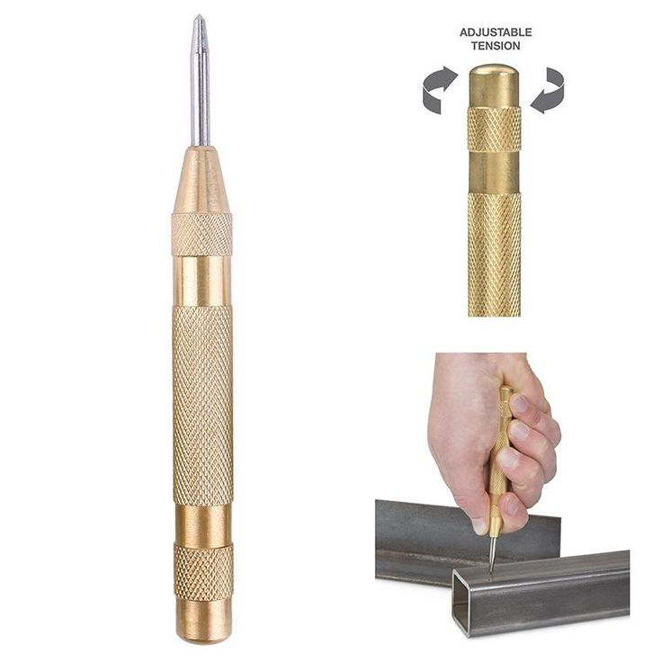 #Valentines #AdoreWe #BuyinCoins - #BuyinCoins 5'' Automatic Center Pin Punch Strike Spring Marking Starting Holes Tool - AdoreWe.com