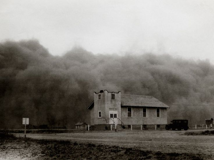 Church of God, Ulysses, Kansas, USA, April 14, 1935