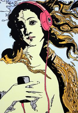 Saatchi Online Artist Eduardo Bessa Rodrigues; Painting, Music is what feelings sound like - III #art
