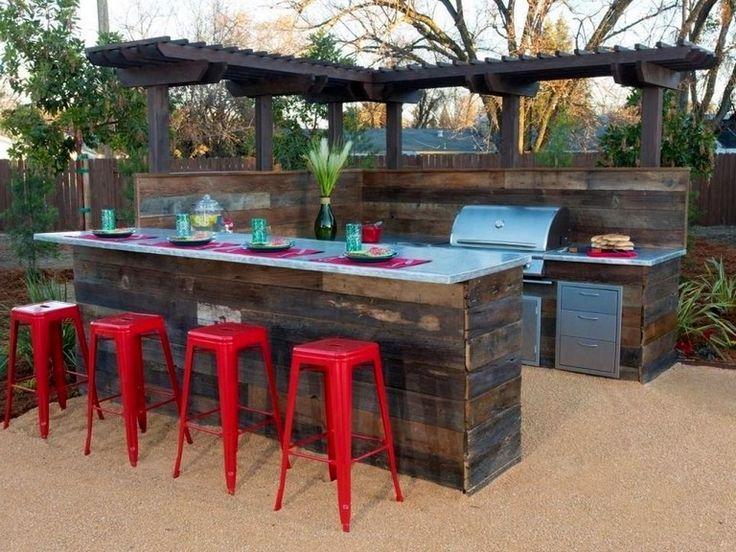 47+ Design-Ideen für komfortable Outdoor-Küchen #outdoorkitchen #kitchendesign #kitchendesignideas