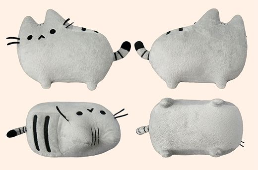 Pusheen plush -- try to make!