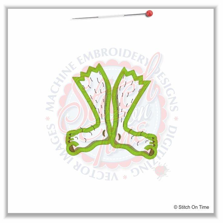 stitchontimeEmbroidery Design, Applique Design