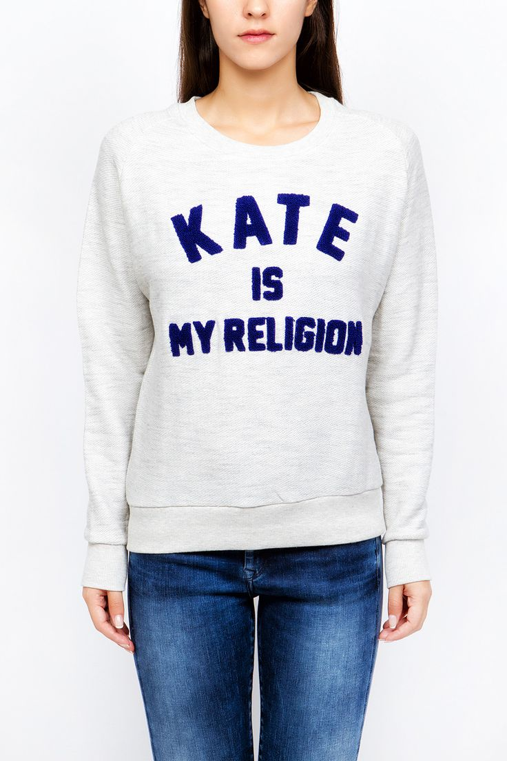"Μακρυμάνικη μπλούζα @elevenparis ""Kate is my Religion""  http://goo.gl/7F6CQW  http://www.shopatshop.gr  #elevenparis"