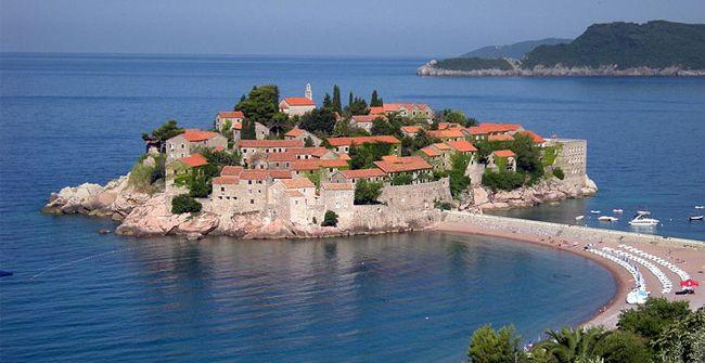Sveti Stefan - Muntenegru