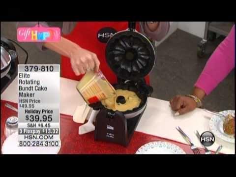 Kelly Diedring Harris presents the Elite Bundt Cake Maker on HSN https://www.hsn.com/shop/top-kitchen-deals/16130