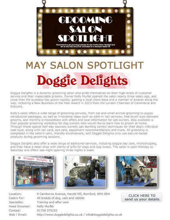 Salon Spotlight May 2014, Doggie Delights