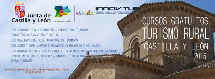#TuismoRural Cursos gratuitos de formación turística dirigidos al subsector de turismo rural en Castilla y León