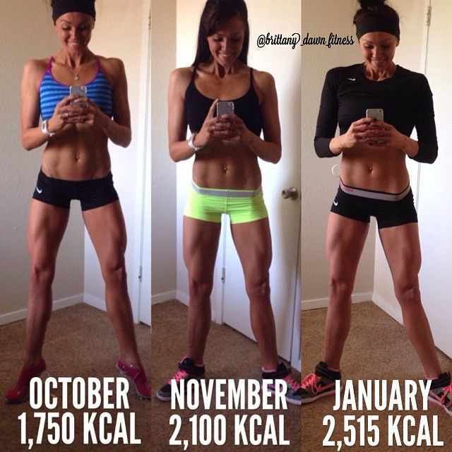 I started my Reverse Dieting the very next day after my show in October. I…