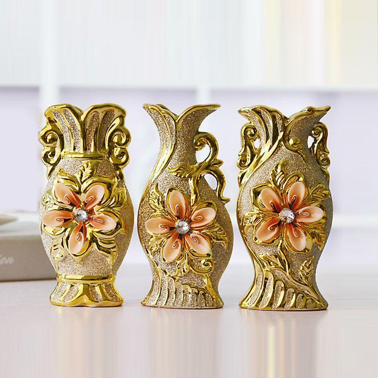 34 best decorative vases images on pinterest decorating vases modern ceramic vase relief gold vase home decoration living room decorative vases wedding gift flower vase junglespirit Images