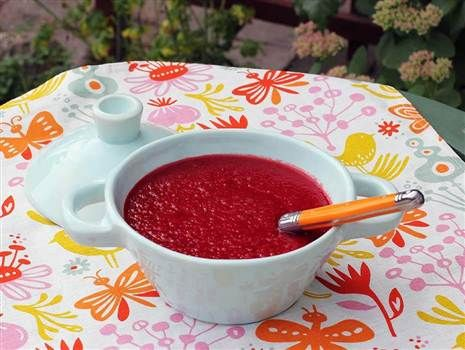 5:2 Rödbetssoppa med morot och ingefära