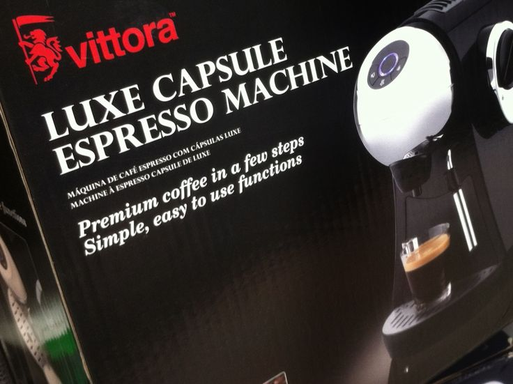 Vittora. Name creation, trademark design, brand development, art direction and packaging design. Commissioned by the Shoprite Checkers Group for their private label range of expresso makers.