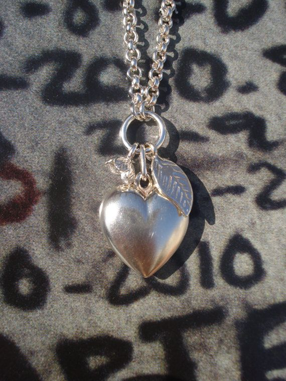 9.25 Stirling silver large chunky heart by MyLittleEtsyBoutique, $106.55