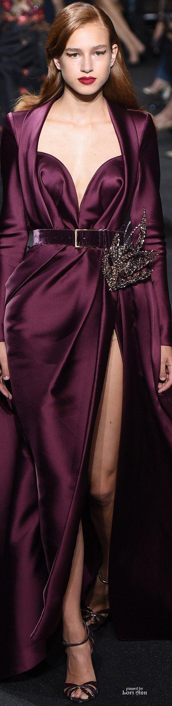 Elie Saab Couture Fall 2016 beautiful colour for an Autumn wedding. #weddinggown #weddinginspo #bride #bridetobe #weddings #weddingideas #bespokeweddingdress #dressmaker #dressmakers #miltonkeynes #buckinghamshire #bedfordshire #oxfordshire #northants #uk #lesleycutler #lesleycutlerbridal #MyBestMe  #weddingdress #UK