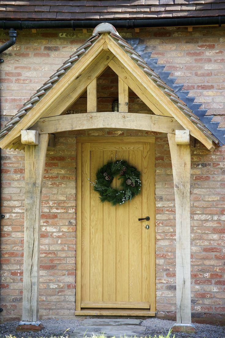 Border Oak - bricked cottage with oak porch