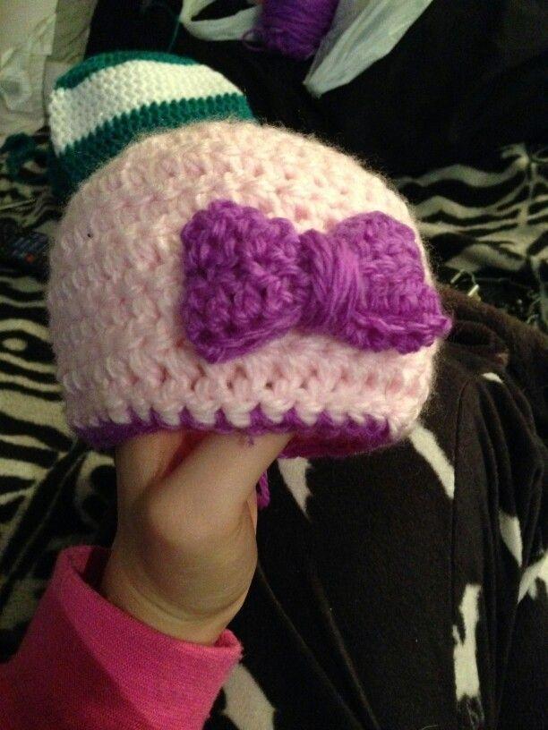 Bonnet avec boucle